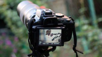 O que são os modos M, A, S e P na câmera DSLR?