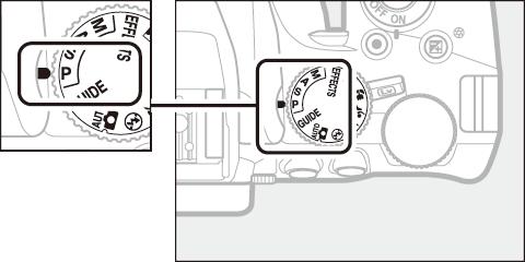 Câmera DSLR: seletor de modo da Nikon D3500 (Foto: Reprodução/Nikon)
