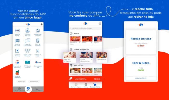 Android / Carrefour Brasil / apps de supermercado