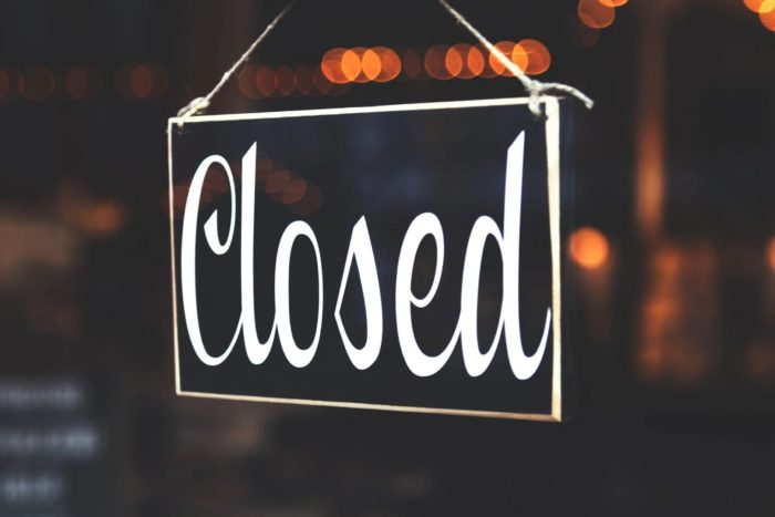 Closed (foto: Pexels)
