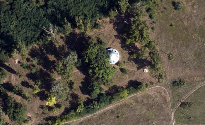 disco voador google earth