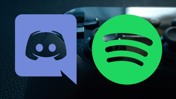 Joystick, Logos Discord e Spotify
