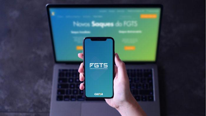 CEF / app FGTS