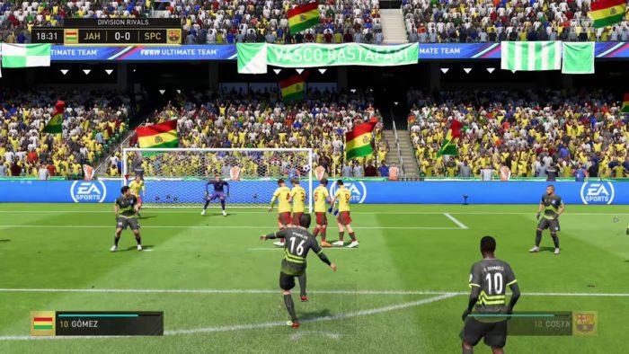 EA / FIFA 19 / como cobrar falta no fifa 19