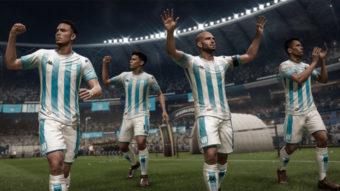 FIFA 20 ganha Libertadores com jogadores genéricos em times brasileiros