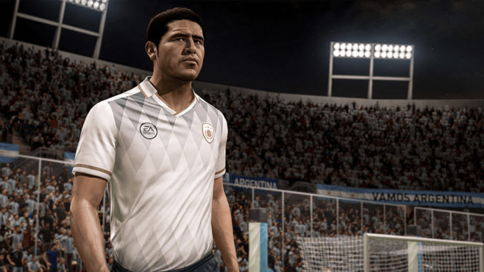 Ídolo do Boca Juniors, Riquelme está no modo Ultimate Team