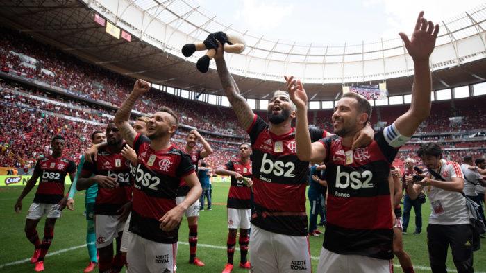 Flamengo, Corinthians e outros 9 times terão vídeos no Facebook Watch (Foto: Lucas Figueiredo/CBF - 16/02/2020)