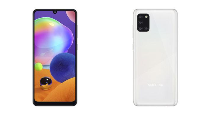Sucessor de Galaxy A31 (foto), Galaxy A32 com 5G deve ser lançado em 2021