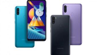 Samsung revela Galaxy M11 com bateria de 5.000 mAh