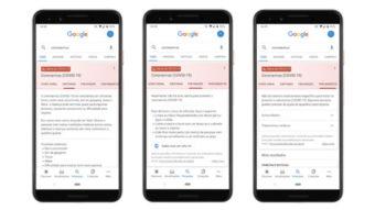 Google altera busca e lança portal sobre novo coronavírus