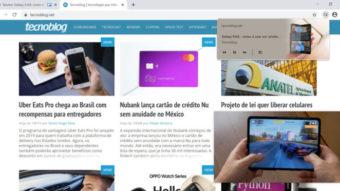 Google Chrome testa botão para exibir vídeos em modo PiP