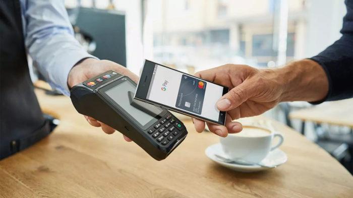 Google / Google Pay / pagamento por aproximação