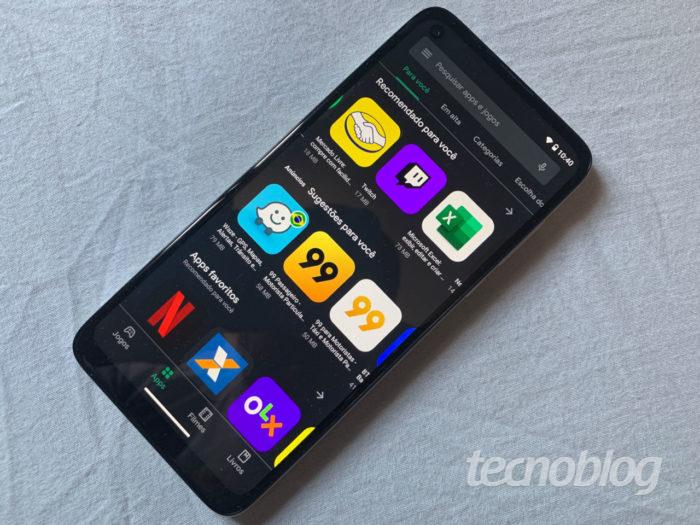 Google Play Store / como deixar google play store escuro