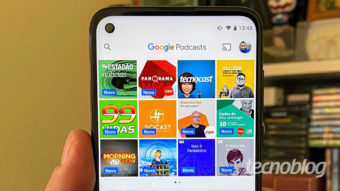 Google Podcasts prepara nova interface e mais recursos no Android