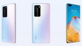 Huawei P40 Pro e P40 Lite são homologados pela Anatel