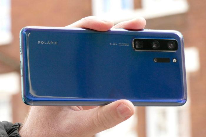 Protótipo do Huawei P40 (Reprodução/Digital Trends)