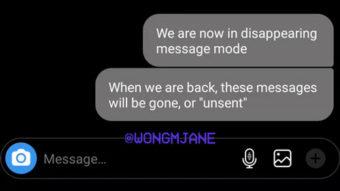 Instagram testa mensagens de texto que se autodestroem no Direct