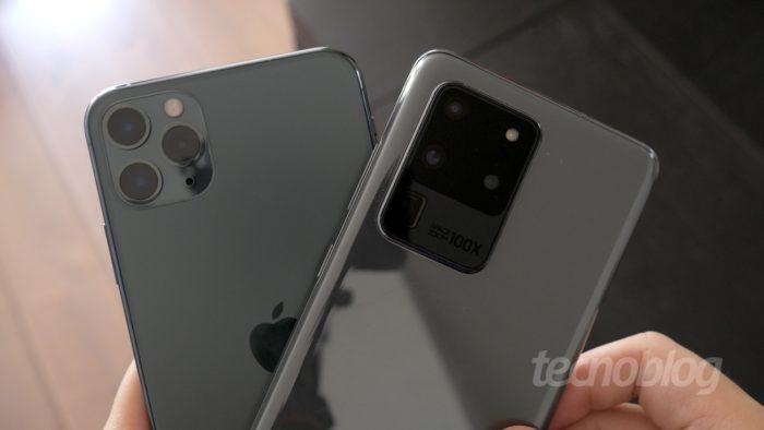 Mercado global de celulares retraiu 20% no 1º trimestre de 2020; Samsung, Huawei e Apple se destacam