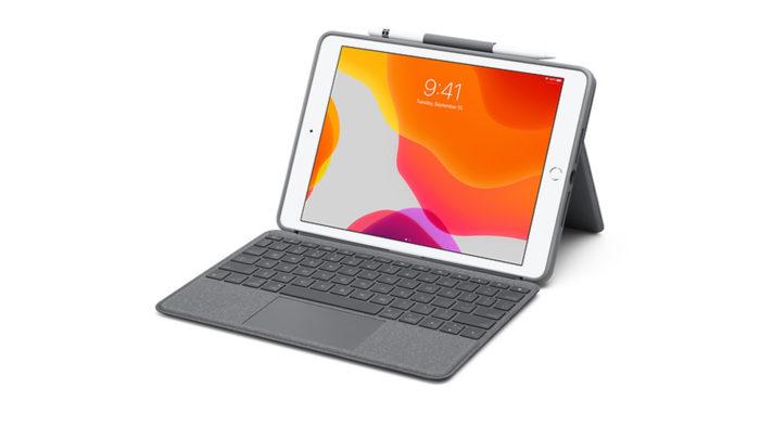 Capa da Logitech com touchpad para iPad e iPad Air