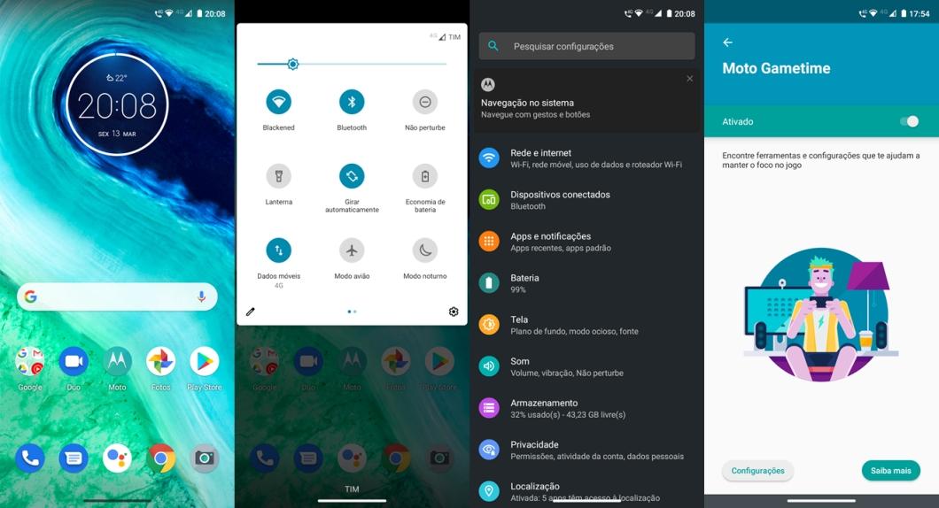 Motorola Moto G8 - software