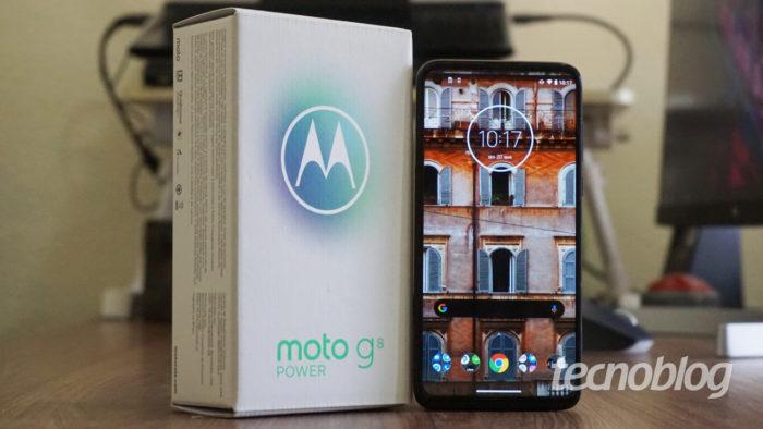 Motorola Moto G8 Power (Imagem: Tecnoblog)