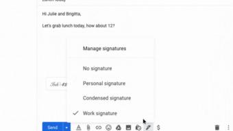 Gmail ganha suporte a múltiplas assinaturas de e-mail