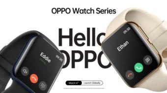 Oppo revela smartwatch parecido com Apple Watch