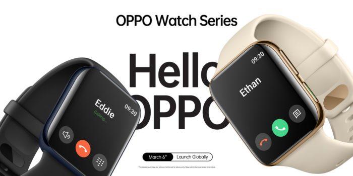 Anúncio do Oppo Watch