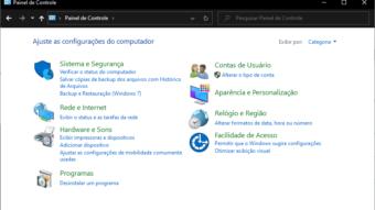 Windows 10 deve ocultar mais partes do antigo Painel de Controle