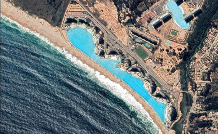 piscina google earth