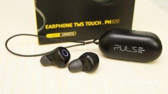 Pulse TWS Touch PH320: fones simples, mas decentes