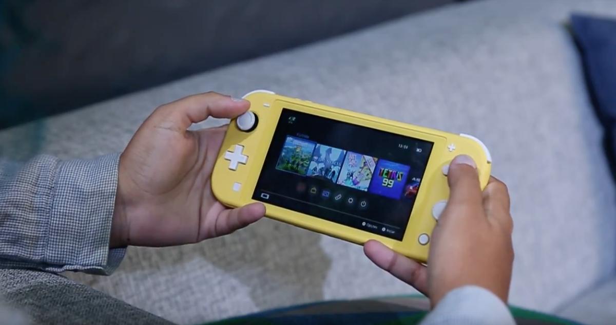 Nintendo Switch Lite (Imagem: Melissa Cruz Cossetti/Tecnoblog)