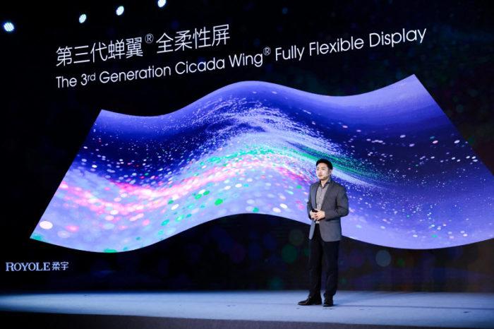Royole FlexPai 2 será o primeiro com terceira geração da Cicada Wing FFD