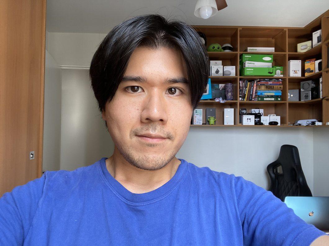 iPhone 11 Pro Max: câmera de selfie