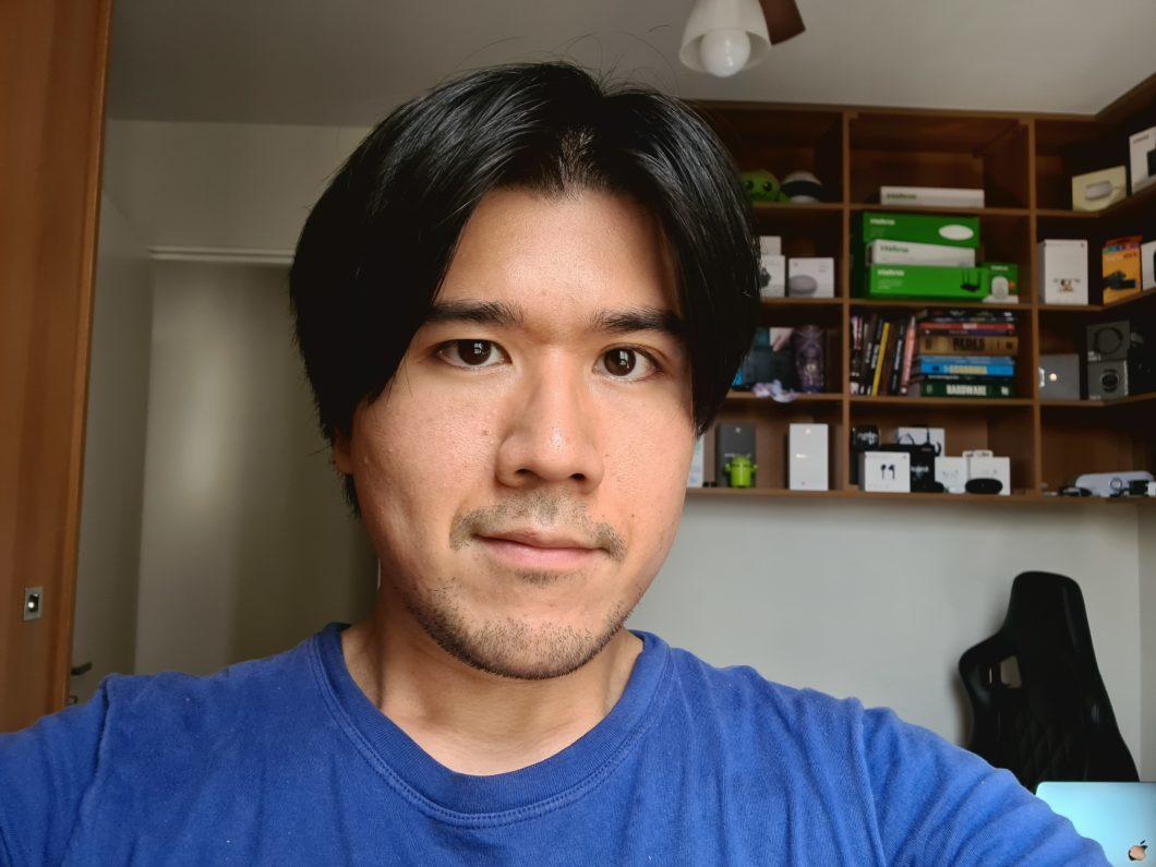 Galaxy S20 Ultra: câmera de selfie