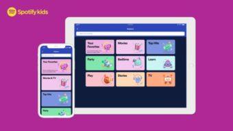 Spotify Kids é lançado no Brasil em versão beta