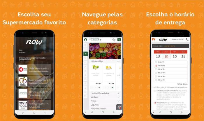 Android / Supermercado Now / apps de supermercado