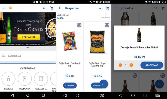 Android / SuperPrix Supermercado