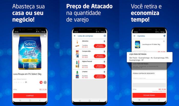 Android / Tenda Atacado