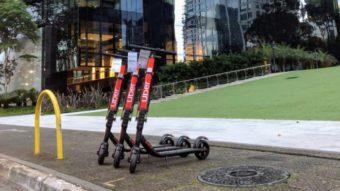 Uber desiste de patinetes elétricos em São Paulo