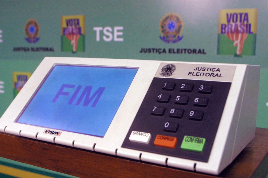 Urna eletrônica (Imagem: Divulgação/TSE)