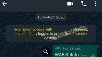 WhatsApp deverá permitir uso de uma conta em vários dispositivos