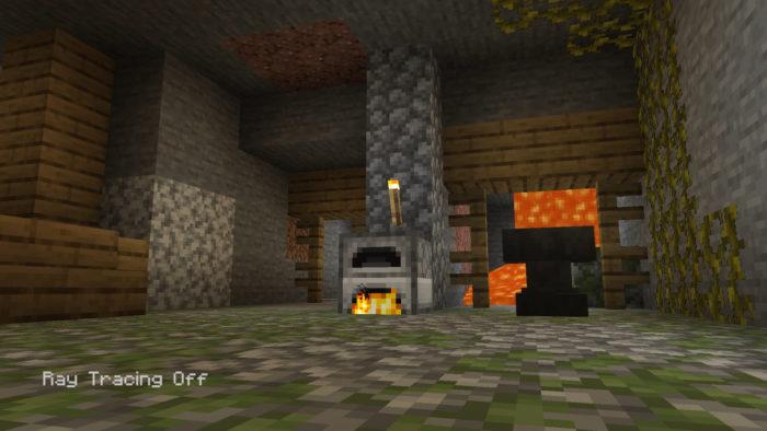 Minecraft no Xbox Series X