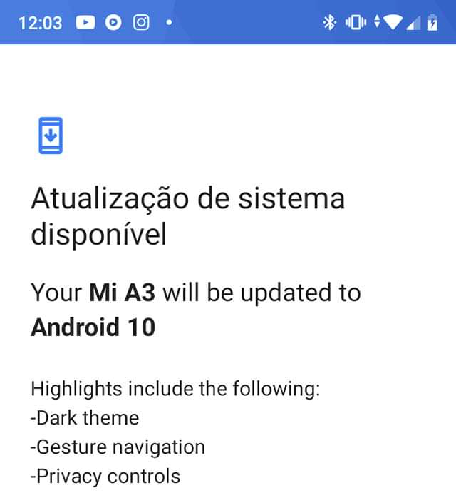 Xiaomi Mi A3 e Android 10