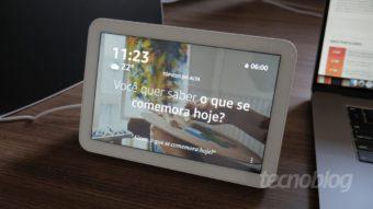 Amazon Echo Show 8: Alexa com mais som e imagem
