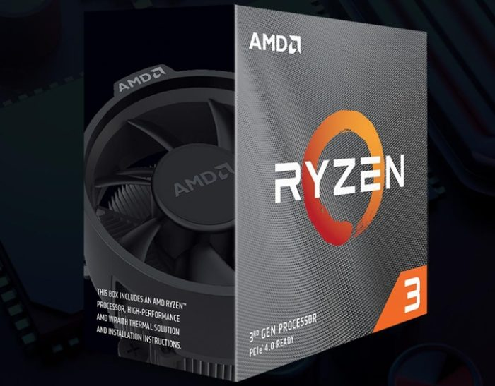 AMD Ryzen 3 - caixa