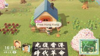 China restringe Animal Crossing por imagens sobre Hong Kong