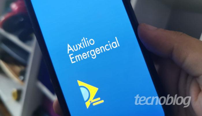 App CAIXA | Auxilio Emergencial Topo