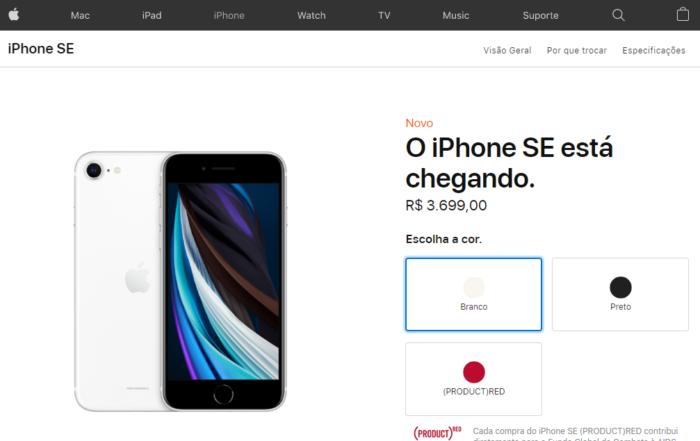 Apple iPhone SE - indústria brasileira
