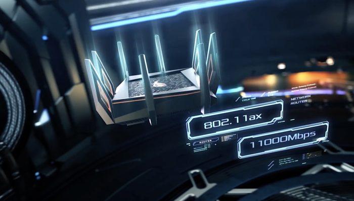 Roteador Asus AX11000 com Wi-Fi 6